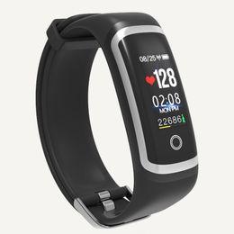 Парный телефон онлайн-Sync Phone Language Bluetooth Smart Watches Men Sports Watch  Couple Table Waterproof Color Screen Woman Electronic Watch