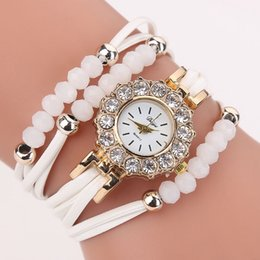 Wholesale Port Leather - Top Fashion Brand Luxury Womens Watch ports Bracelets Diamonds Casual Dress Ladies Watches PU Leather Wristwatch Clock Relogio Feminino