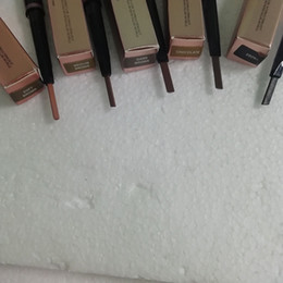 2019 expédition d'ébène Crayon à sourcils double maquillage chaud BROW PENCIL ébène / brun foncé / brun moyen / chocolat DHL Livraison gratuite promotion expédition d'ébène