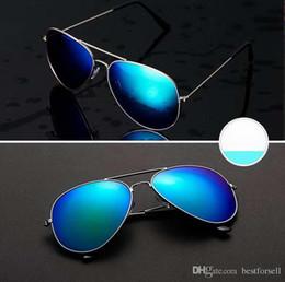 Wholesale vintage sunglasses cheap - Fashion 2018 Sunglasses 62mm Men Women Pilot New UV400 Vintage Classic Driving Glass Sun Glasses with cases cheap sale