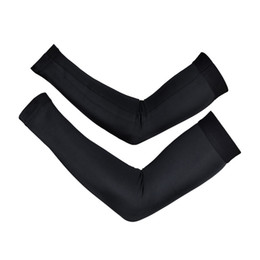 Wholesale Cycling Arm Sleeves Warm - Simple Bike MTB Cycling Breathable Arm Warmer sports UV Protection armwarmers Cycles Oversleeve Sleeves Arm Sleeve Leg Warmers