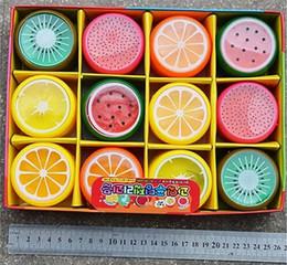 Canada Fruit Fruits Boue En Cristal Cristal Argile Gelée Boue Boue 6 * 6cm Pâte À Pâte À Pâte À Pâte De Légumes Pour Enfants 6 Styles Offre