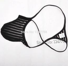 Sexy Hommes Pénis Pouch Tanga Sous-Vêtements Transparent Micro String Mâle G-String T-Back Pant ? partir de fabricateur