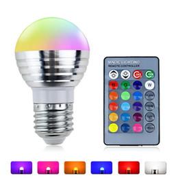 E27 LED RGB Lampe Ampoule Blanc AC 110V 220V 5W LED Spot Dimmable Nouveauté Holiday Lights + Télécommande IR 16 couleurs ? partir de fabricateur
