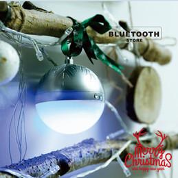 Presente de Natal sem fio Mini Bluetooth Speaker presente pendurar na árvore de Natal Altavoces Altoparlante de