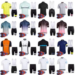 2018 summer new Top Brand Quality RAPHA team Cycling Short Sleeves jersey ( bib) shorts sets High Perfomance Bicycle Clothes D1655 4f8ccc0f6
