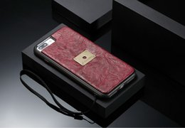 2019 iphone ring ring CaseMe Pour Apple iPhone 7 8 plus cas de couverture arrière avec TPU détachable PC Slim affaire, luxe PU fond avec bague pour iPhone 6 6s Plus iphone ring ring pas cher
