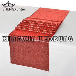 Wholesale Nice Events - Nice Lloking r Sequin Table Runner For Table Cloth Wedding Party Event Decoration
