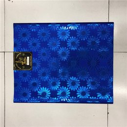Wholesale Sego African Headtie - 2018 High Quality HeadTie & Wrapper African Sego Headtie Applique 2pcs Bag free shipping by epacket African Headtie