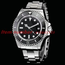 Wholesale Sub Watch Automatic - High Quality RO Luxury Brand SUB 116610LV 40MM A2813 men watch mechanical Automatic Movement Sliding Steel Buckle Men's Sports Watches