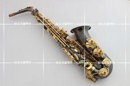 Wholesale Yanagisawa Alto - YANAGISAWA new A-991 E-flat Alto saxophone Musical instruments Black Nickel Jinsakesi UPS   DHL shipping
