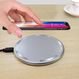 Cargador inalámbrico de alta calidad de 10W 7.5W Cargador rápido de carga inalámbrico Cargador inteligente de viaje inalámbrico para Samsung s9 plus desde fabricantes