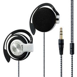 Wholesale Mobile Telephones - Shini Q170 Headphones 3.5mm Headset EarHook Earphone For Mp3 Player Computer Mobile Telephone Earphone Wholesale