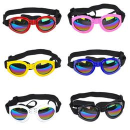 vente en gros nouvelle décoration de chien attrayant lunettes de soleil multicolore à la mode imperméable Boom Pet Dog lunettes de soleil cool lunettes de soleil chiot ? partir de fabricateur