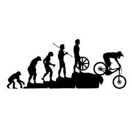 Voitures drôles en Ligne-Autocollant CA-0081 de voiture de descente de vélo de montagne drôle de 22,8 * 9,5 cm