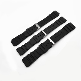 Wholesale 18mm Silicone Watch Strap - Silicone watch strap Watchband 18mm, 20mm, 22mm mens watches Smart Watches relojes mujer 2017 clock Straps for SB004