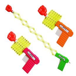 Wholesale Boy Jokes - Children Funny Practical Joke Elastic Stretch Flexible Stretching Fist Toy Gun