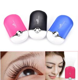 Wholesale Air Condition Tools - Newest USB Fan Air Conditioning Blower Eyelash Extension Glue Quickly Dry Grafted Eyelashes Dedicated Dryer Makeup Beauty Tools