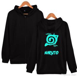 2018 roupas de inverno japão Naruto Hoodies Com Capuz Mulheres Zipper  Inverno Clássico Japão Anime Casaco b4ede5daad1
