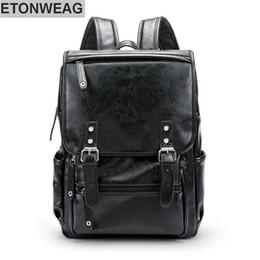 a9978908df Discount vintage mens leather backpacks - wholesale brand mens bag brief  belt decoration men  039