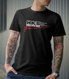 Wholesale performance turbos - Limited HKS Power and Sportser Performance Turbo Logo Black T-Shirt Size S-5XL