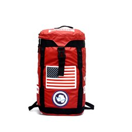 box table cloth UK - Brand Large Capacity Backpack Oxford Cloth Waterproof Black Red Outdoor Hiking Rucksack Fashion MenTravel Handbags