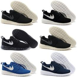 Wholesale Womans Sports - 2017 New London Olympic Classic All Black White Ink Running Shoes For Men Women Sports London Olympic Womans Mens Trainers Sneakers Running