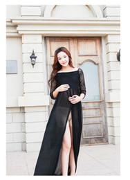 5f6b1c5d209be New Maternity Dress for Photo Shoot Black Lace Maternity Dress Pregnancy  Photography Props Floor-Length Long Pregnancy Dress