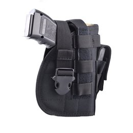 Wholesale Mag Holster - Nylon Tactical Molle Gun Pistol Holster with Extra Mag Pouch for 1911 45 92 96