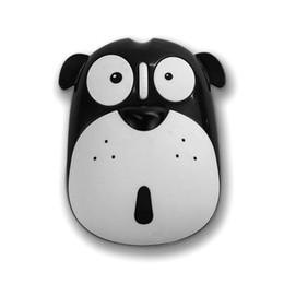 Rato bonito do pc on-line-Cão bonito Dos Desenhos Animados Mute Mouse Sem Fio 1200 DPI de Economia de Energia Ergonômico Óptico Ratos Universal Computer Mouse para PC Portátil