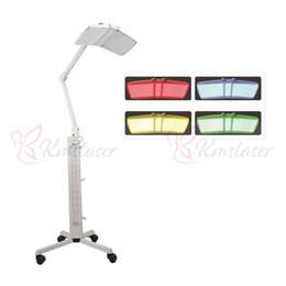 equipamentos de cuidados faciais Desconto Máquina profissional do rejuvenescimento da pele do fotão Cuidados com a pele faciais Equipamento da beleza da lâmpada da luz da cor do laser da terapia do diodo emissor de luz PDT