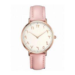 2019 moda árabe para mulheres 2018 Top Marca Mulheres Relógios Moda Ultra Fino Algarismos Arábicos Relógios De Pulso De Quartzo Das Senhoras Vestido Relógio Montre Femme Presente Do Relógio moda árabe para mulheres barato