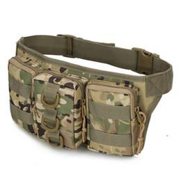 2019 petit sac tactique Trois même petites poches camouflage tactique militaire US taille sacs en plein air petit sac d'équitation alpinisme imperméable à l'eau petit sac tactique pas cher