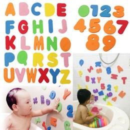 2018 36PC alfanumerico lettera bagno puzzle morbido EVA bambini giocattoli per bambini nuovo precoce educativo bambini strumento giocattolo del bagno giocattolo divertente da