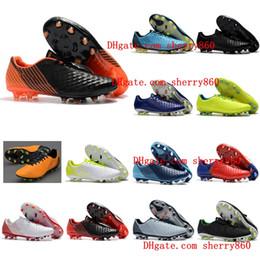 2018 yeni varış erkek futbol cleats Magista Opus II FG düşük ayak bileği futbol ayakkabıları magista obra deri futbol çizmeler Mavi ucuz nereden