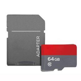 Blanco Más vendido de Android 2018 80MB / S 90MB / S 32GB 64GB 128GB 256GB C10 TF Tarjeta de memoria Flash Clase 10 Adaptador SD gratuito Venta al por menor Paquete de blister desde fabricantes