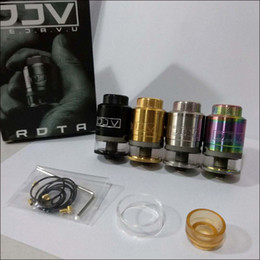 Wholesale Unique Metals - DEJAVU DJV RDTA Unique Design Build Deck For Easy Dual Coils Building Adjustable Side Airflow Center Spring Filling System 4 Colors