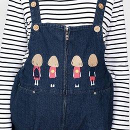 Wholesale Fashion Maternity Jeans - Winter Maternity straps trousers velvet fashion long jeans natural color print cotton plush Maternity clothing