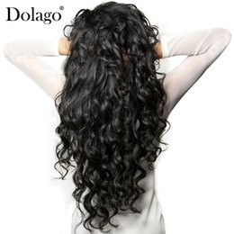 marcas de tejido de cabello humano Rebajas Paquetes de onda suelta 3 piezas de la armadura brasileña del pelo de la virgen paquetes 100% extensión del pelo humano Remy Dolago