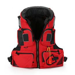 Wholesale Safety Wears - Polyester Swimming Life Jacket Rafting Snorkeling Buoyancy Garment Swimming Jackets Fishing Vest Safety Jacket Water Sport Wear