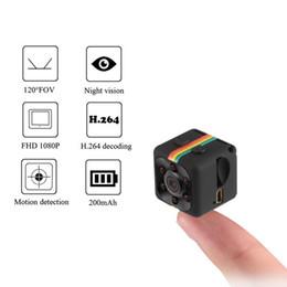 2019 хорошая крытая камера Новые SQ11 HD 1080 P Мини Камера Ночного Видения Мини Видеокамера Спорт На Открытом Воздухе DV Voice Video Recorder Действий Камеры Поддержка TF Карта