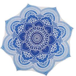 Wholesale Children Picnic Blanket - Wholesale-Round Beach Towel Indian Mandala Tapestry Beach Hike Picnic Blanket Yoga Mat Shower Towel Bohemian New