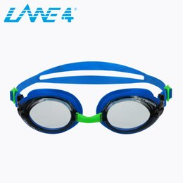 d78b49db9ec LANE4 Optical Swim Goggle RX with 3 Nose Pieces Anti-fog UV Protection Easy  adjusting for Adults Blue  92295