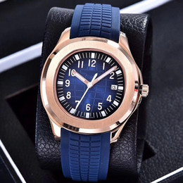 Wholesale Big Bang Watch Strap - Big P P luxury brand watch 39mm Aquanaut Automatic 2813 movement steel case comfortable rubber strap original clasp AAA watch bang 05