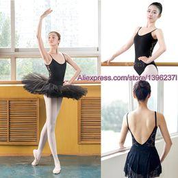 Wholesale ballet leotards women - Ballet Leotard For Women High Quality Cotton Lace Ballet Dancing Costume Professional Adult Gymnastics Leotards