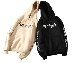 hollister hoodie Promo Codes - Fear of God Hoodie Men Spring Casual Tracksuit Hoodies Long Sleeved Hooded Letters Printed Biber Pullovers Sweatshirts Clothing
