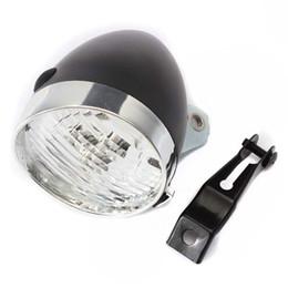 Luces de bicicleta de época online-Faros retro de la bicicleta LED luz de la lámpara del coche Led Light Dead Flying Flying coche de la vendimia ABS plásticos de ingeniería faro 10tc ii