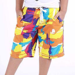 12-jährige kinderkleidung online-10/12/14/16 Jahre altes Kind Jungenkleidung Surfbrett Shorts Strand Schwimmen Kinder Sommer Sport Badehose Kurz Neu