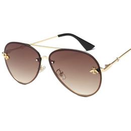 Occhiali da sole mujer online-2019 Nuovo marchio di alta qualità designer di lusso donna occhiali da sole donne occhiali da sole 0113S occhiali da sole rotondi gafas de sol mujer lunette