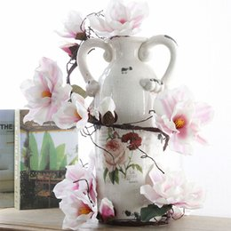 2019 fiori azalea Artificiale fiore di magnolia azalee fiore schiumogeno ramo decorazione finta per la casa matrimonio floreale 185 centimetri fiori decorativi sconti fiori azalea